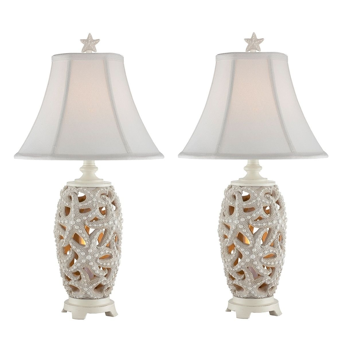 Seahaven Accent Starfish Night Light Table Lamp 24 5 High Lamp