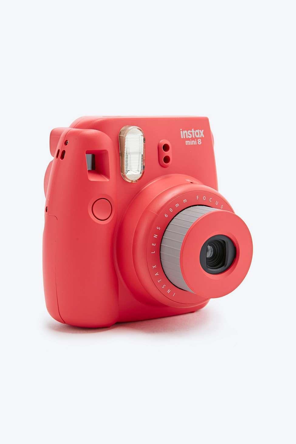 Fujifilm Appareil Photo Instax Mini 8 Rose Fonce I M A G I E N