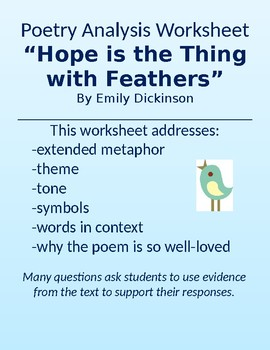 Hope Is The Thing With Feathers Summary : thing, feathers, summary, Thing, Feathers