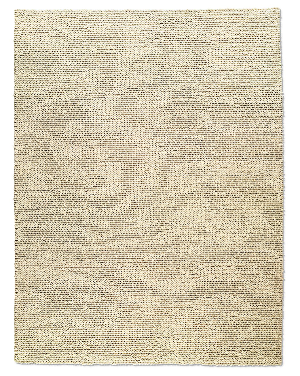 Chunky Braided Wool Rug   Textural Appeal Of A Favorite Sweater. The  Substantial Wool Yarns