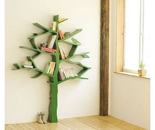 Marvelous This Tree Shaped Bookshelf Is Perfect For A Library Or A Kids Room!