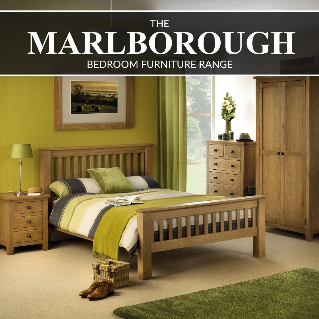 The Julian Bowen Marlborough Bedroom Furniture Range from 9 Home
