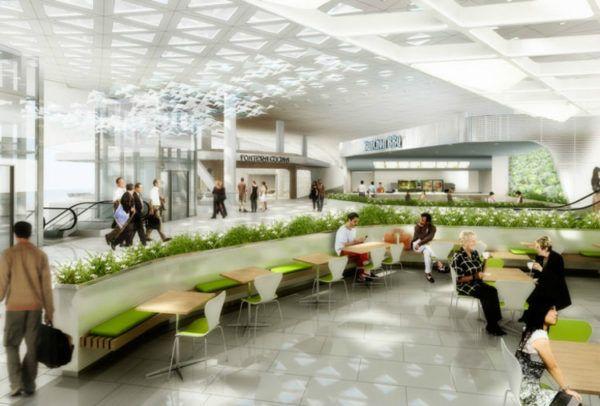 Incheon International Airport - Courtesy of Gensler