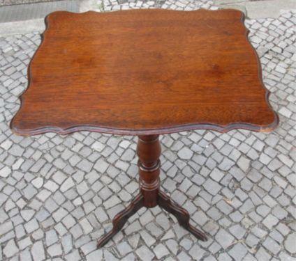 Alter Tisch Beistelltisch Blumentisch Holz Gründerzeit