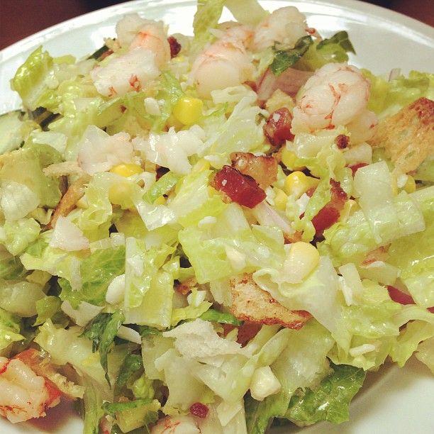 Shrimp salad at Little Market Brasserie in Chicago #foodmafia #foodmafiagodfather #love #beautiful #chicago #goldcoast