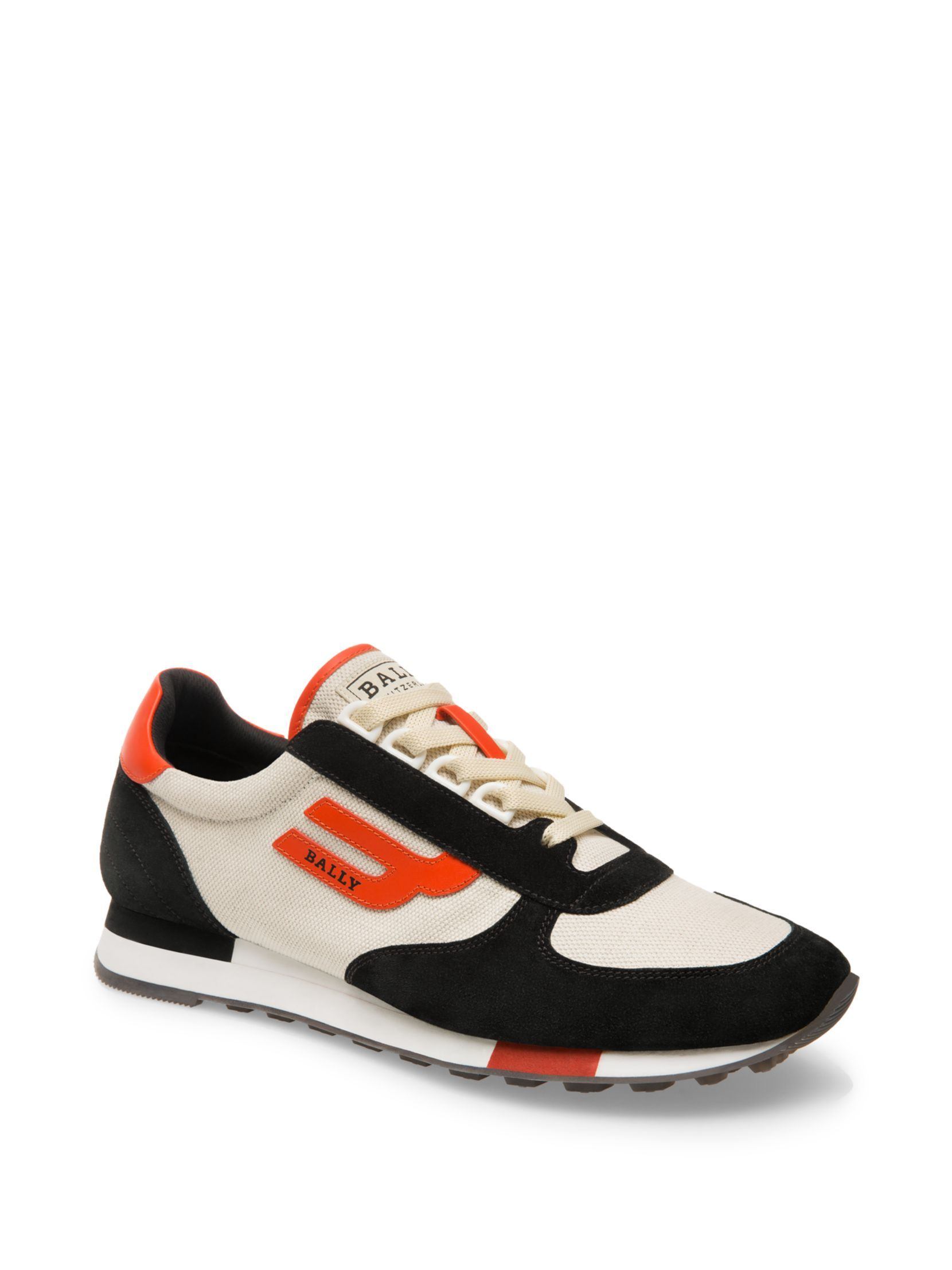 Bally Gavino Retro Runner Low-Top Sneakers 8glXO