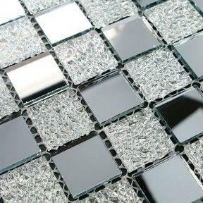 Crystal Gl Tiles Mosaic Tile