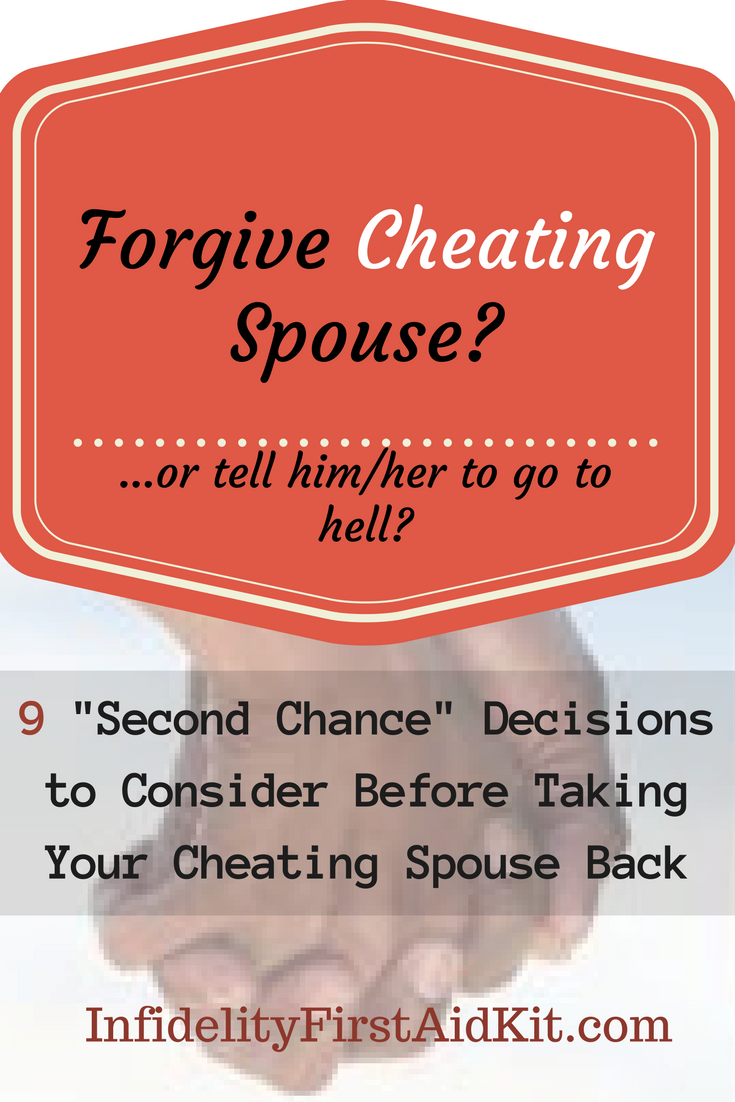 Divorce after cheating