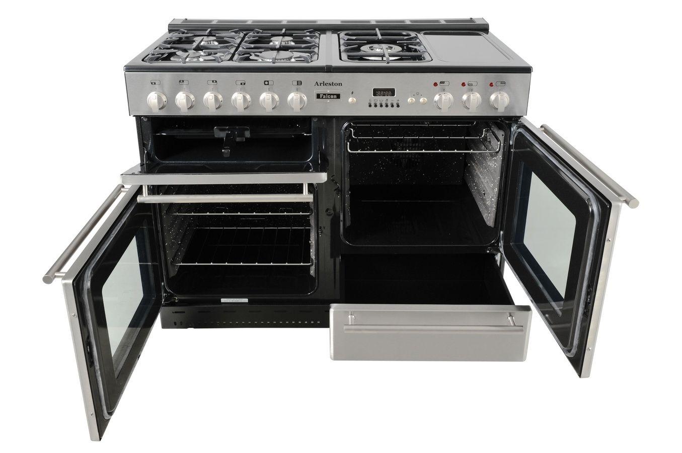 piano de cuisson falcon arleston 110dfss fra inox. Black Bedroom Furniture Sets. Home Design Ideas