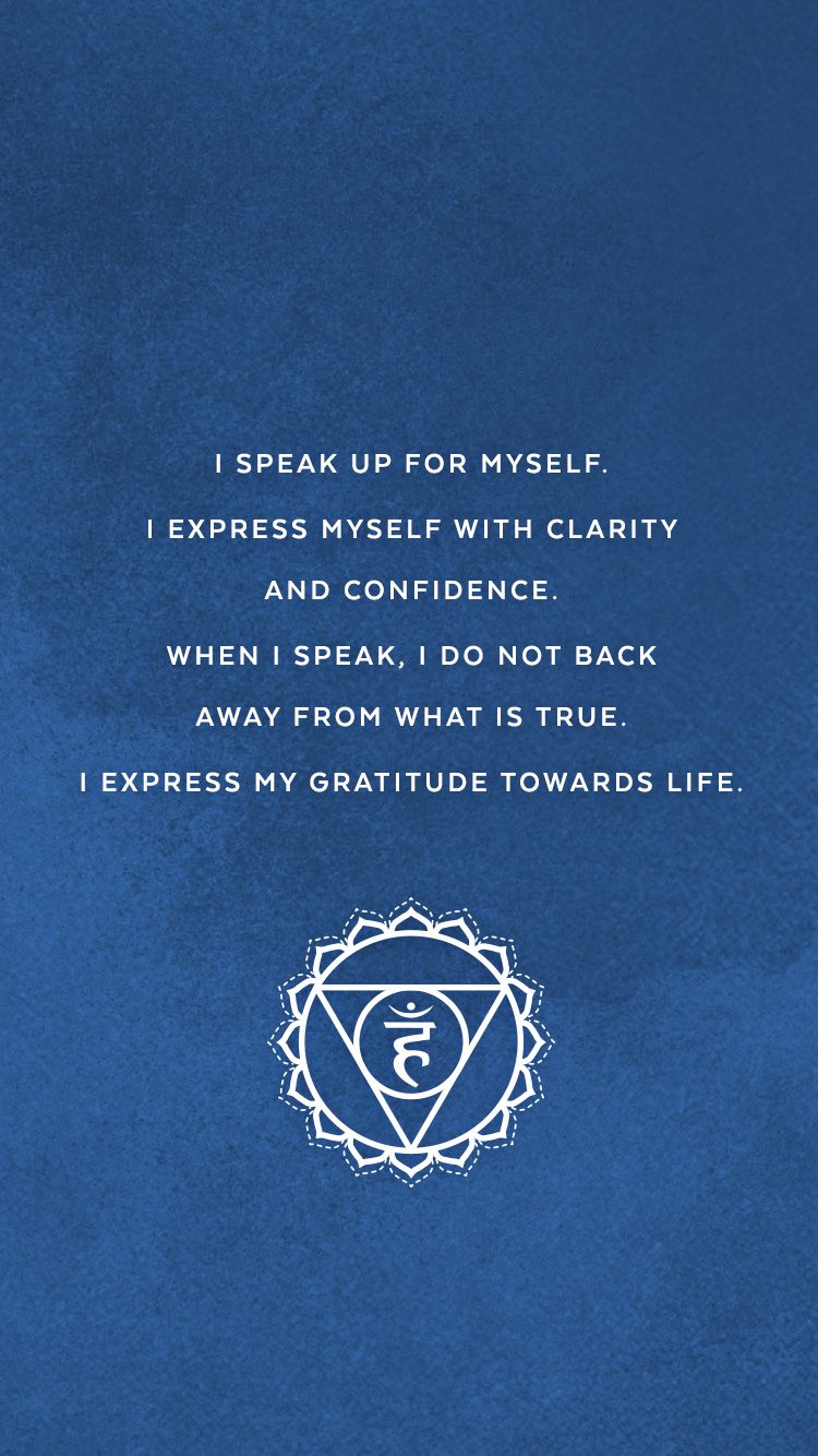 Pin by Elizabeth on Positive Affirmations | Chakra