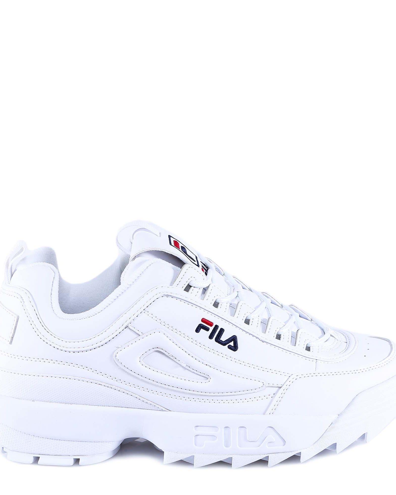 Fila Disruptor Low Men White white   FILA Official