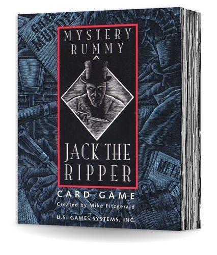 Mystery Rummy Case 1 Jack The Ripper Rummy Card Games Mystery