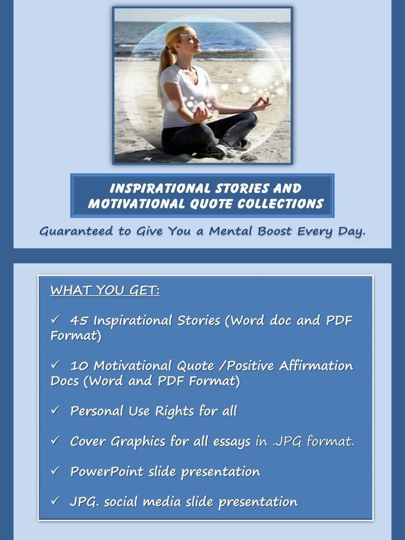 inspirational stories and motivational quotes selfimprovement