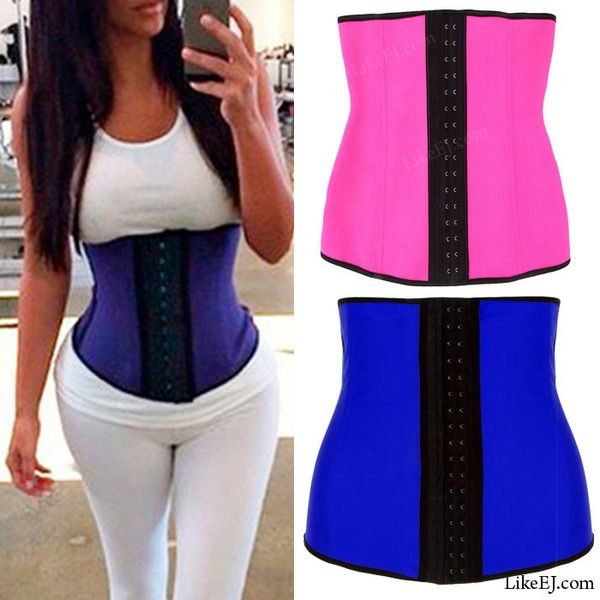 047df8ceeaf  1 Underbust Waist Trainer Cincher Corset Girdle Workout Belly Belt Shaper  Top