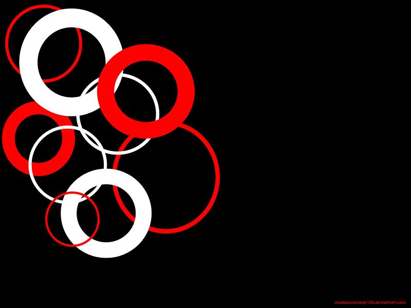 Red And White Wallpaper black red 'n' white wallpaper -cluelesscomedy123 | art