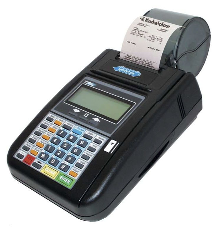 Hypercom T7Plus Credit Card Machine Reader *FREE FedEx Shipping ...