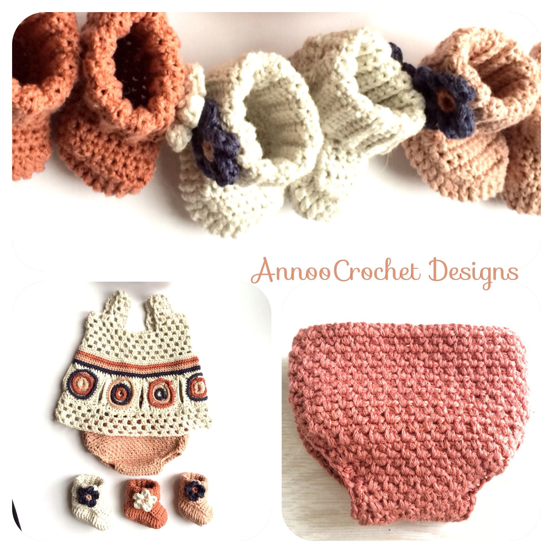 Newborn Free Crochet Diaper Cover By AnnooCrochet Designs | Diaper ...