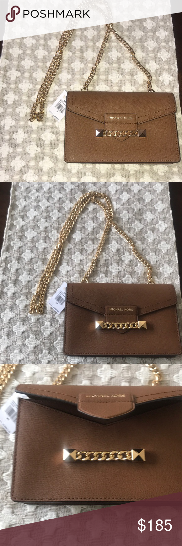 c9932f366fad NWT MK Karla Crossbody bag. Michael Kors. Karla, women's crossbody bag.  Brown
