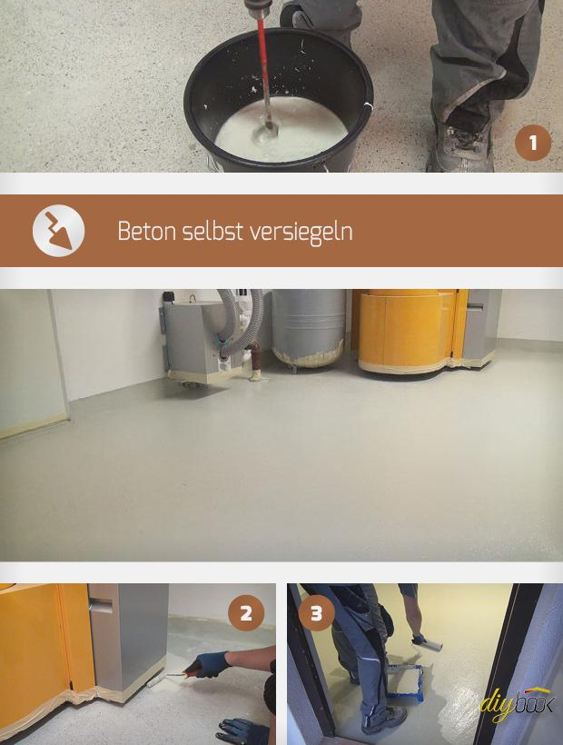 Betonboden versiegeln | Boden | Pinterest | Boden, Haus ...
