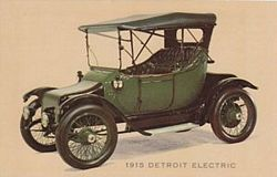 1915 Detroit Electric Small Luxury Cars Electric Cars Antique Cars
