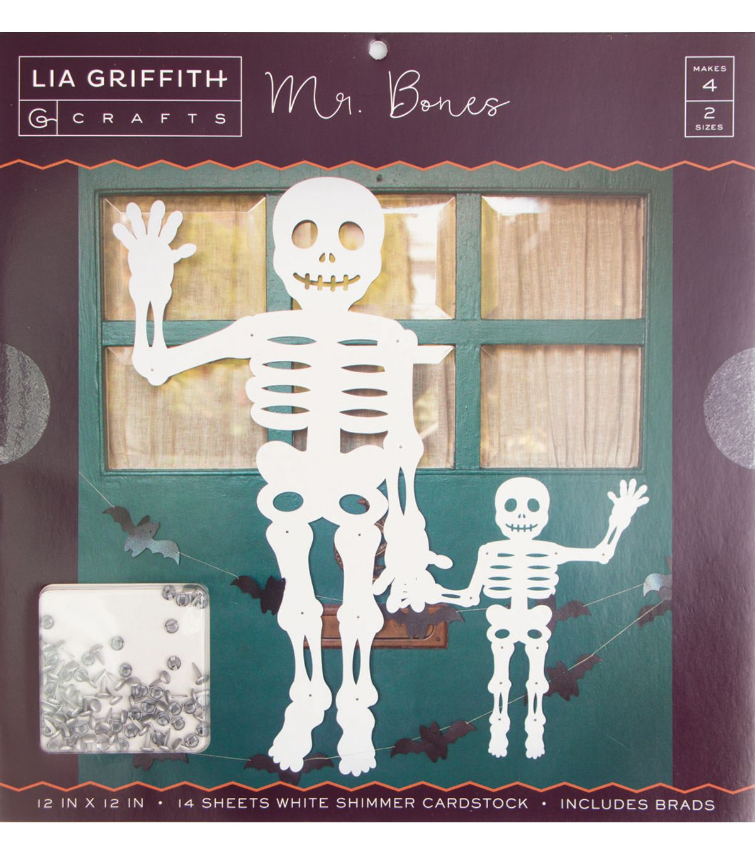 Lia Griffith Crafts 12 X12 Stack Mr Bones