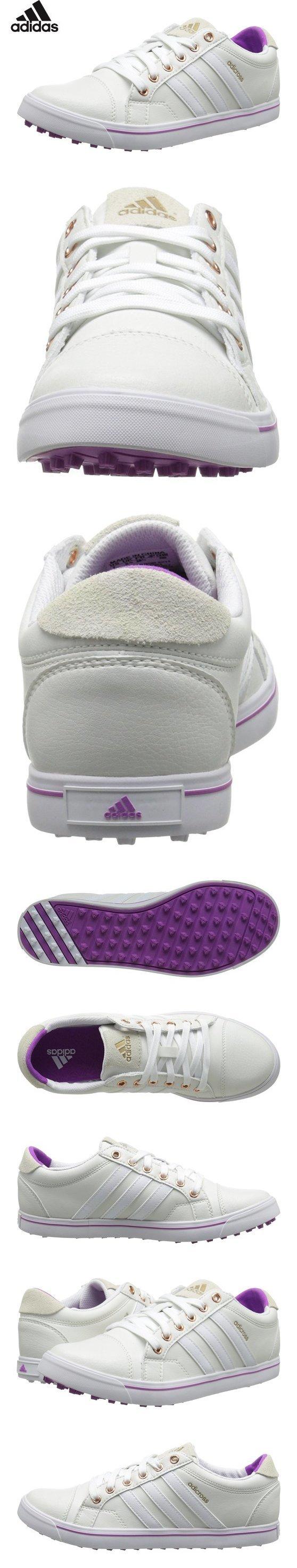 $84.99 - adidas Women's W Adicross IV Golf Shoe, FTW White/Clearonix, 8.5 M US