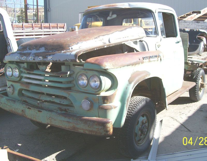 Desert Classics...1958 Dodge Power Wagon 4X4 Flatbed Truck | Desoto ...