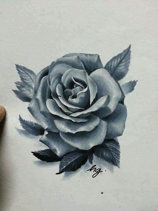 Pin By Bangiz On Kresby Rose Drawing Tattoo Rose Tattoos Skulls Drawing
