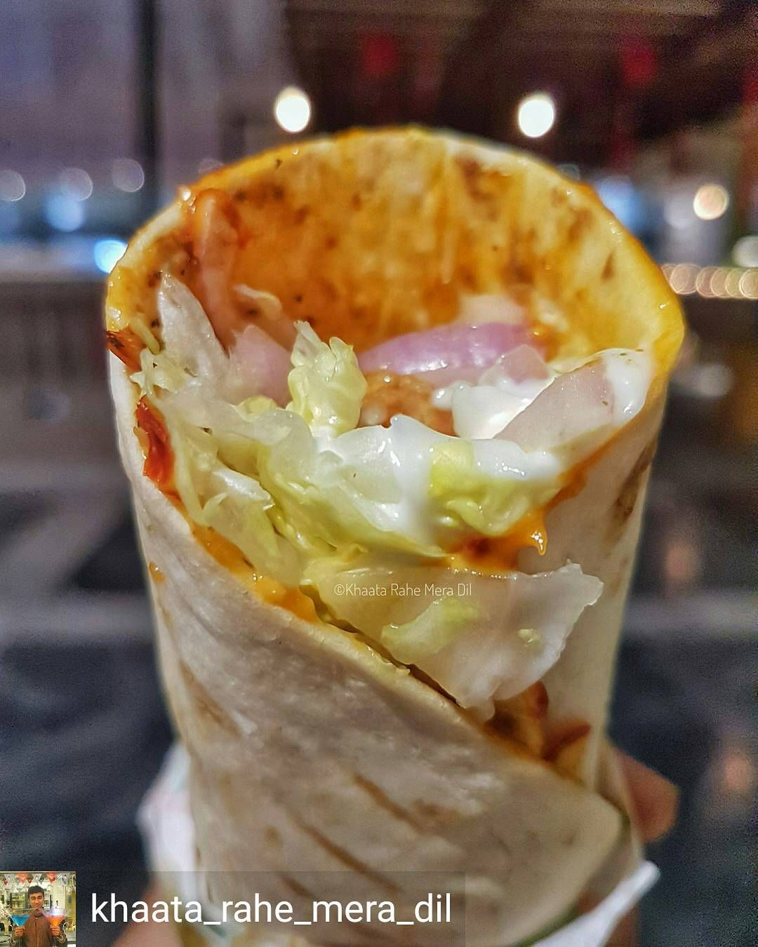 Via @khaata_rahe_mera_dil -  Had a very satisfying Paneer Pita Roll with a little mayo diced paneer & some veggies for breakfast!  . . . . #foodtalkindia #foodoftheday #Like4like #f52grams #l4l #vegetarian #picoftheday #tagsforlikes #food #likesforlikes #nomnom #beautiful #lovefood #indianfood #foodpics #dailyfoodfeed #f4f #delicious #eeeeeats #followme #instafood #follow4follow #yummy #foodblogger #foodgasm #foodie #indian #foodphotography #foodporn #foodstagram