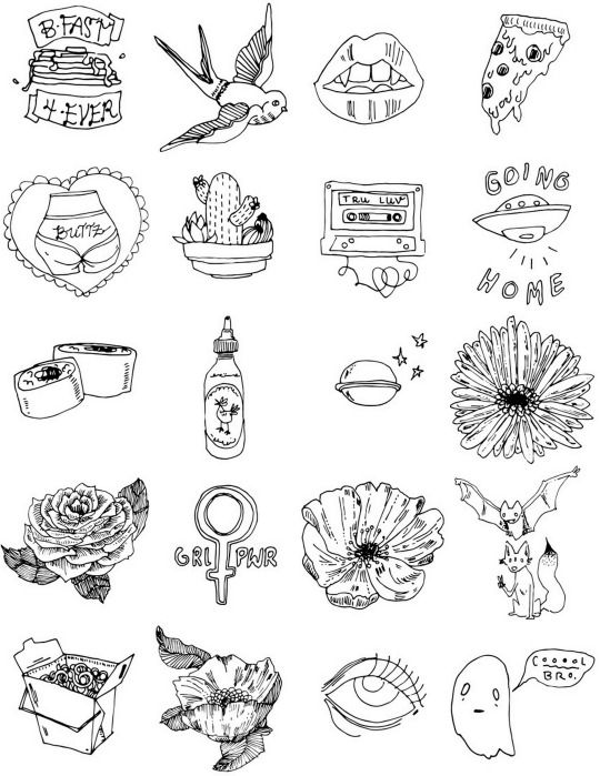 Tatuagem Alienígena, Flash De Tatuagem