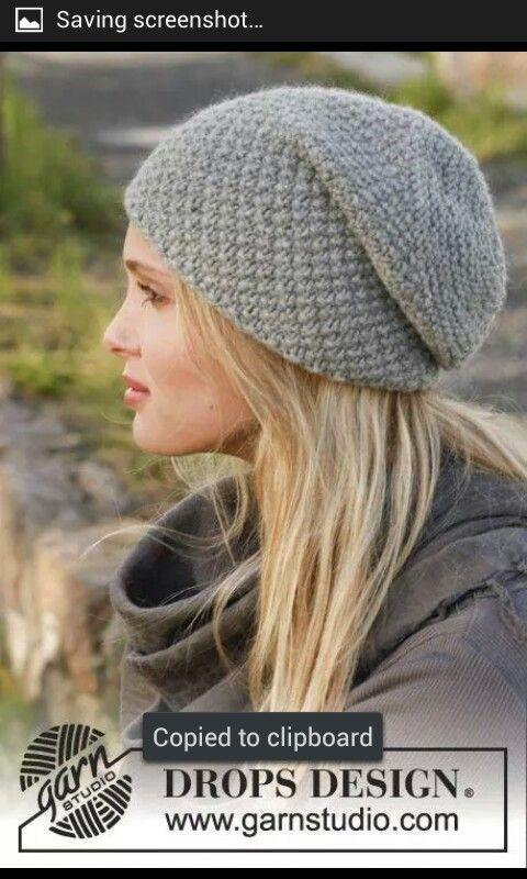 Pin de Taylor Derickson en Crochet | Pinterest | Gorros y Dos agujas