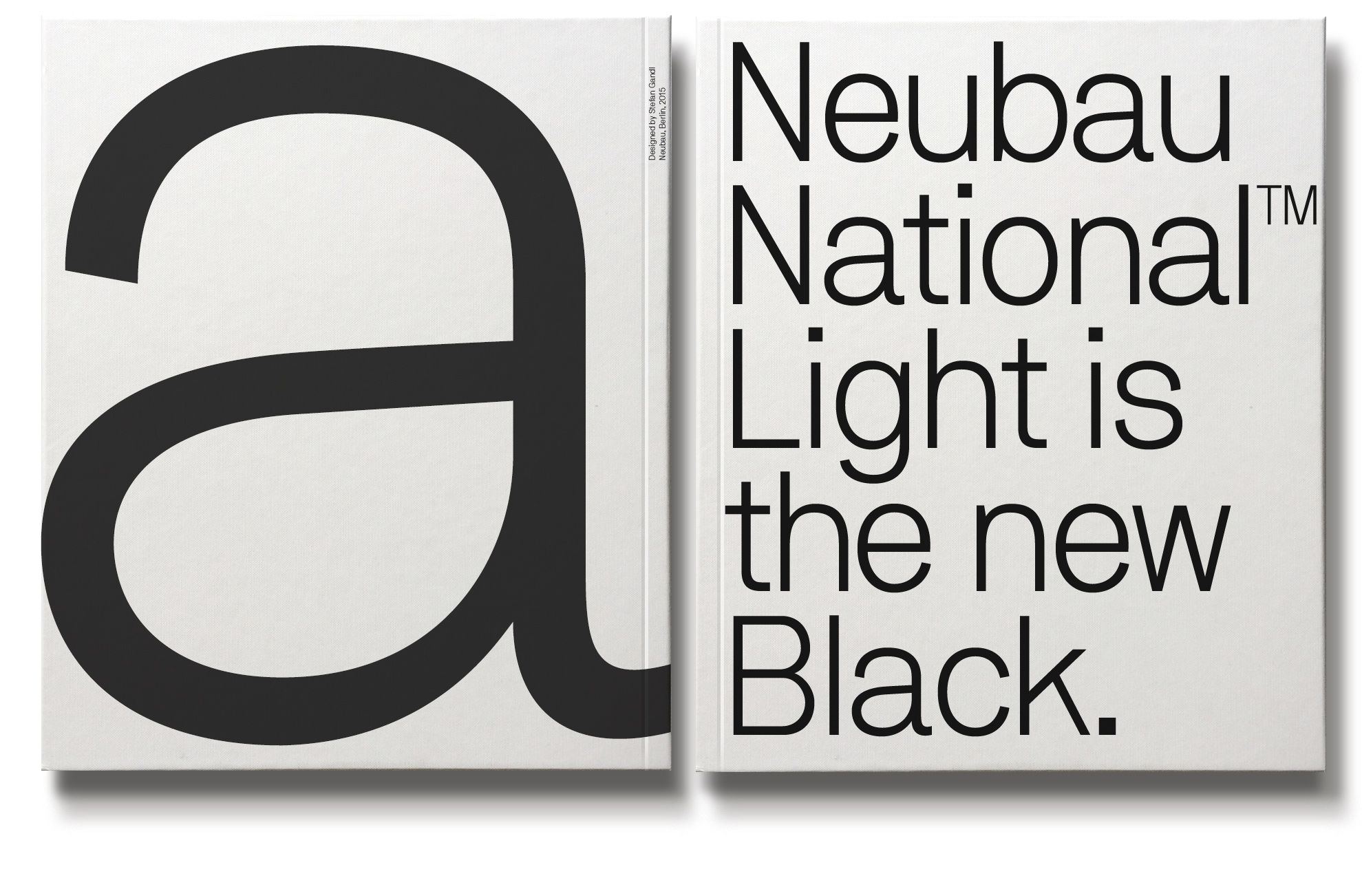 Neubau National Pro Light is the new Black (Typeface) | Design ...