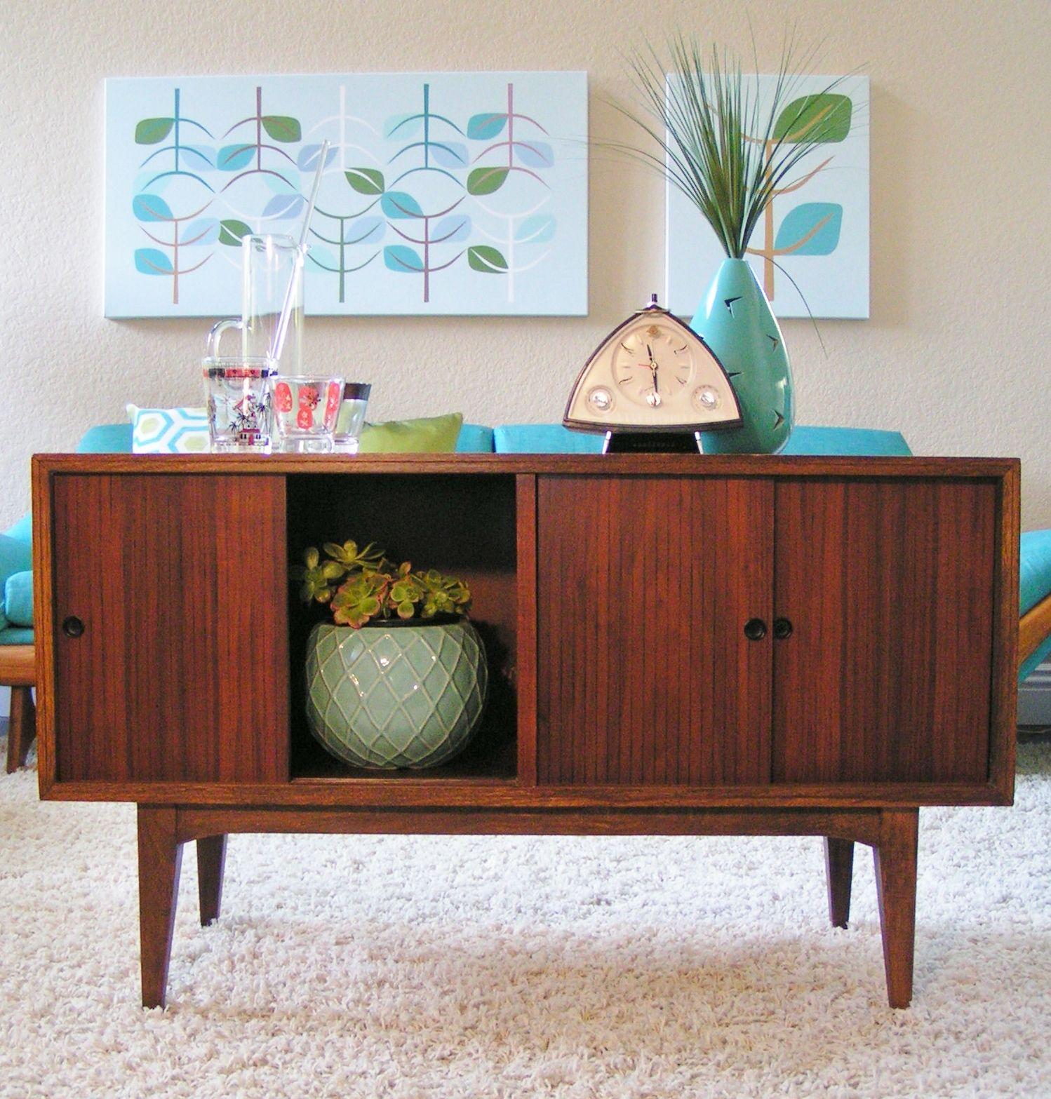 Mid Century Credenza Sleekandsimplelines.com Living Room Midcentury Credenza  Console Bar