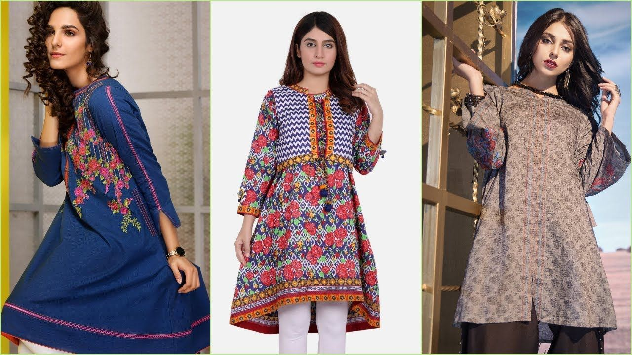 20 New Fashion Kurti Designs 2018 2019 Latest Kurti Design Ready T Kurti Designs Latest Kurti Designs Latest Kurti