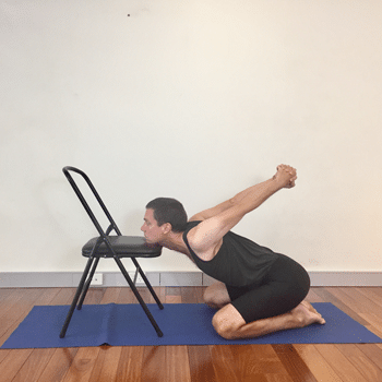 iyengar yoga poses for shoulders  yoga selection  tone