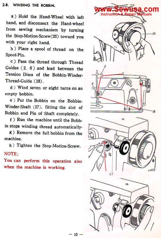 Nelco Ja 38 Sewing Machine Threading Diagram