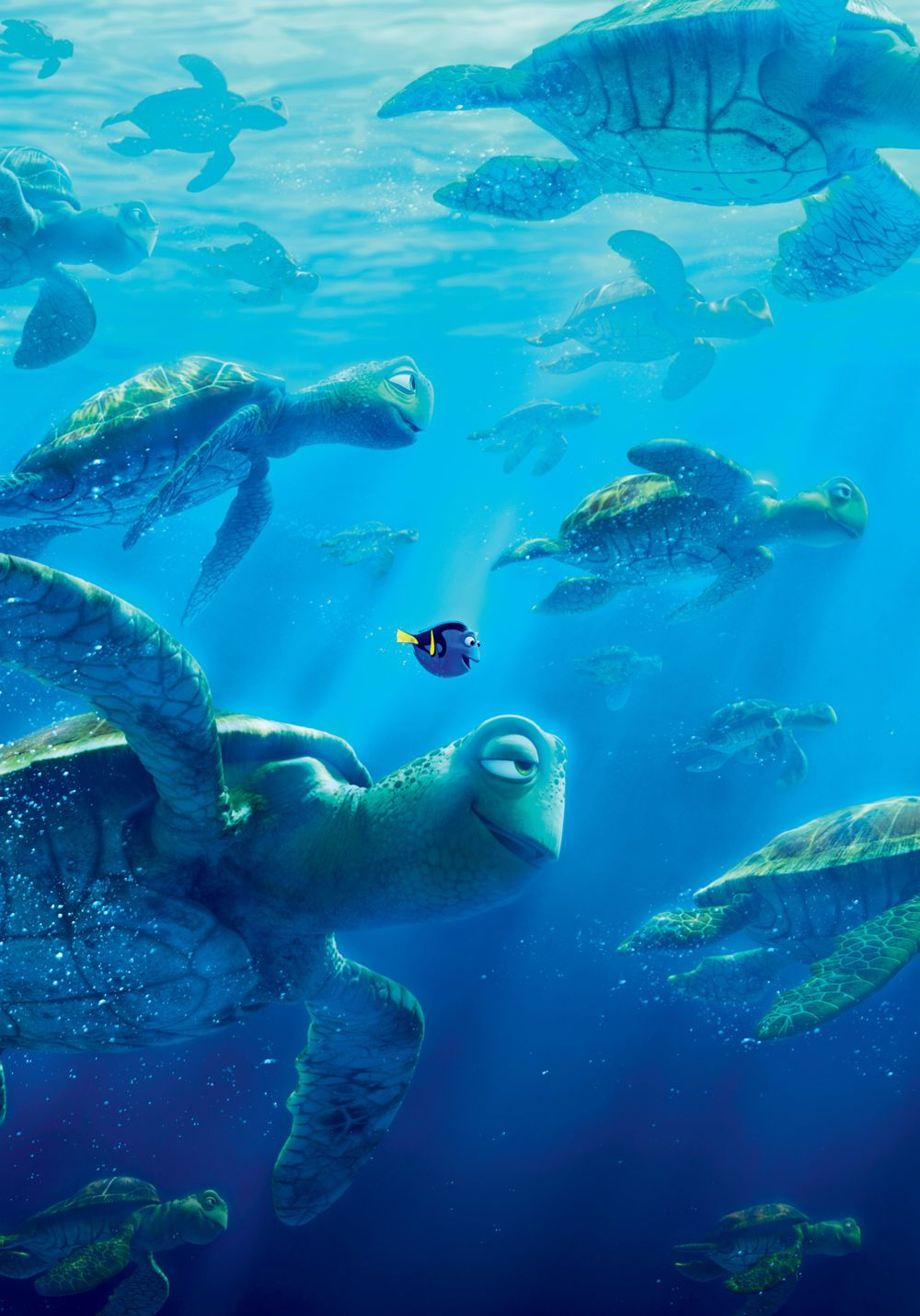 Images from Finding Dory.