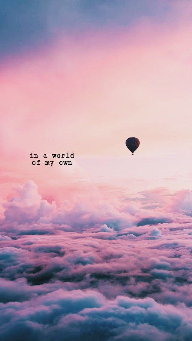 In a world of my own☄   World quotes, Mood quotes ...