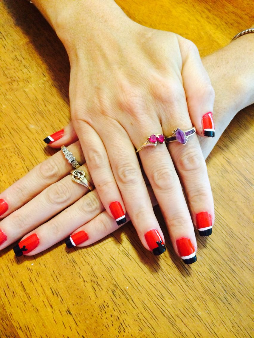 Falcon Nails | Guendell Nails Design | Pinterest | Falcons