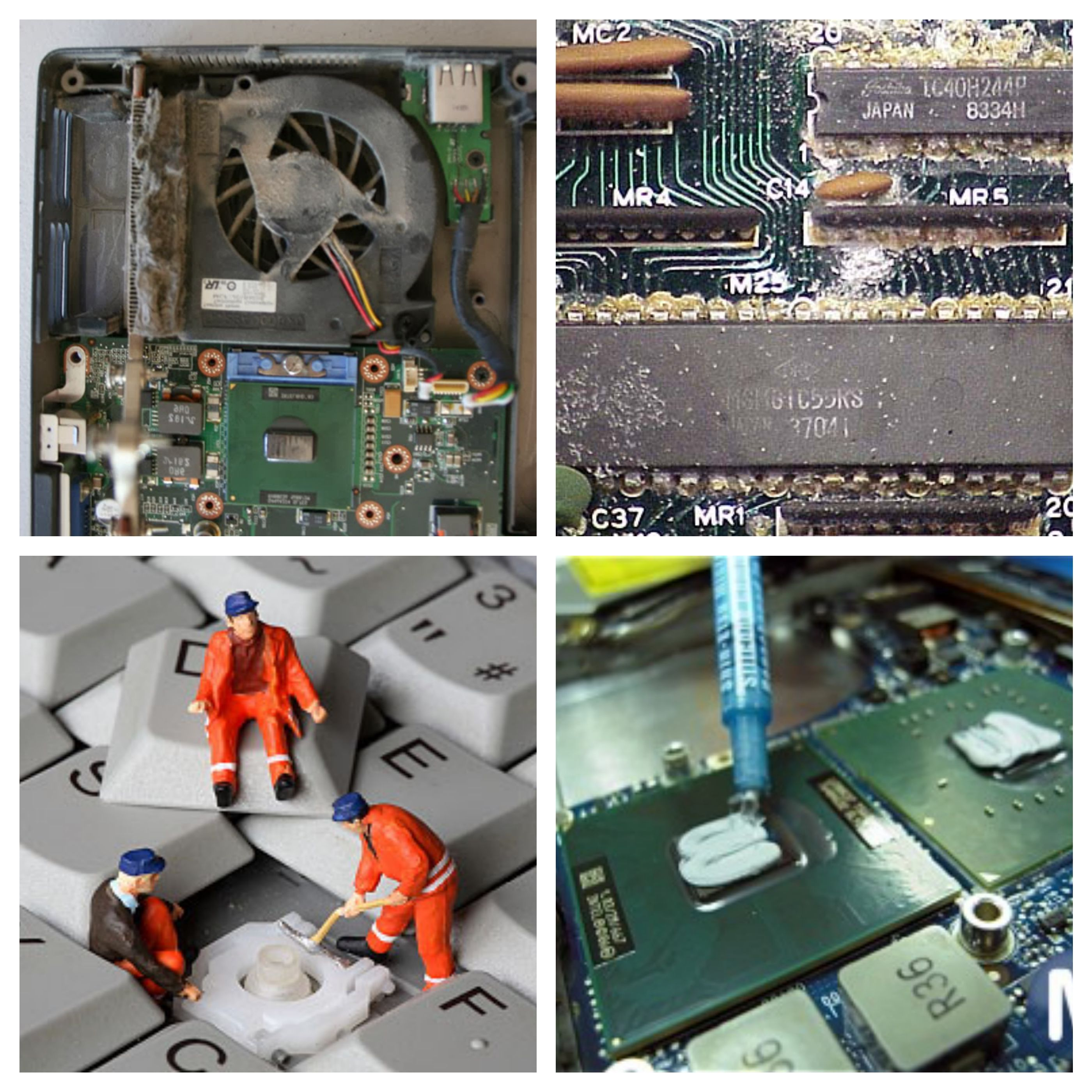 Laptop Overheating requires preventive maintenance