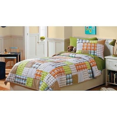 twin quilt sets for kids | ... CIRCO Patches 'n Plaid Collection ... : circo quilt - Adamdwight.com