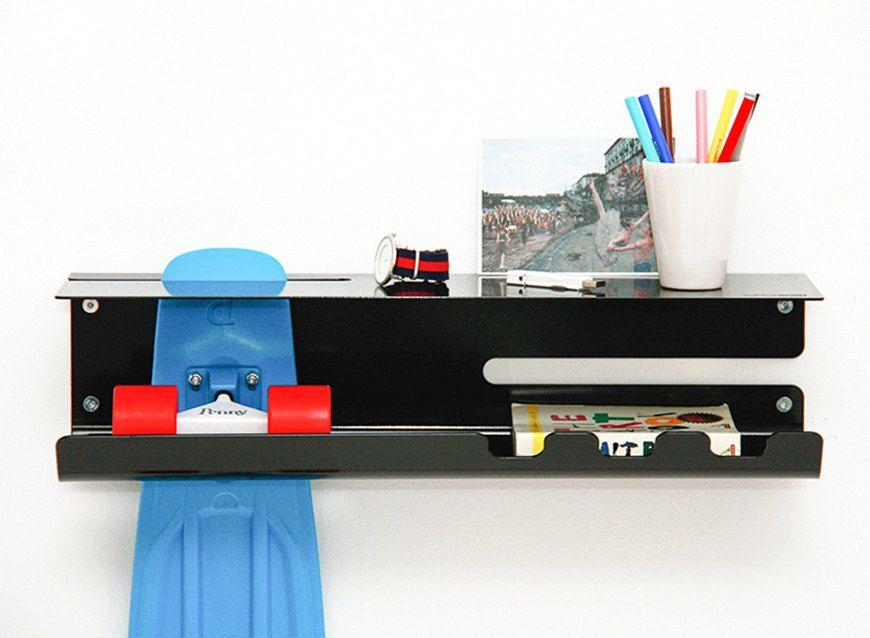 Attirant Multipurpose Stakeboard Storage   Wall Ride Wall Mounted Skateboard Rack