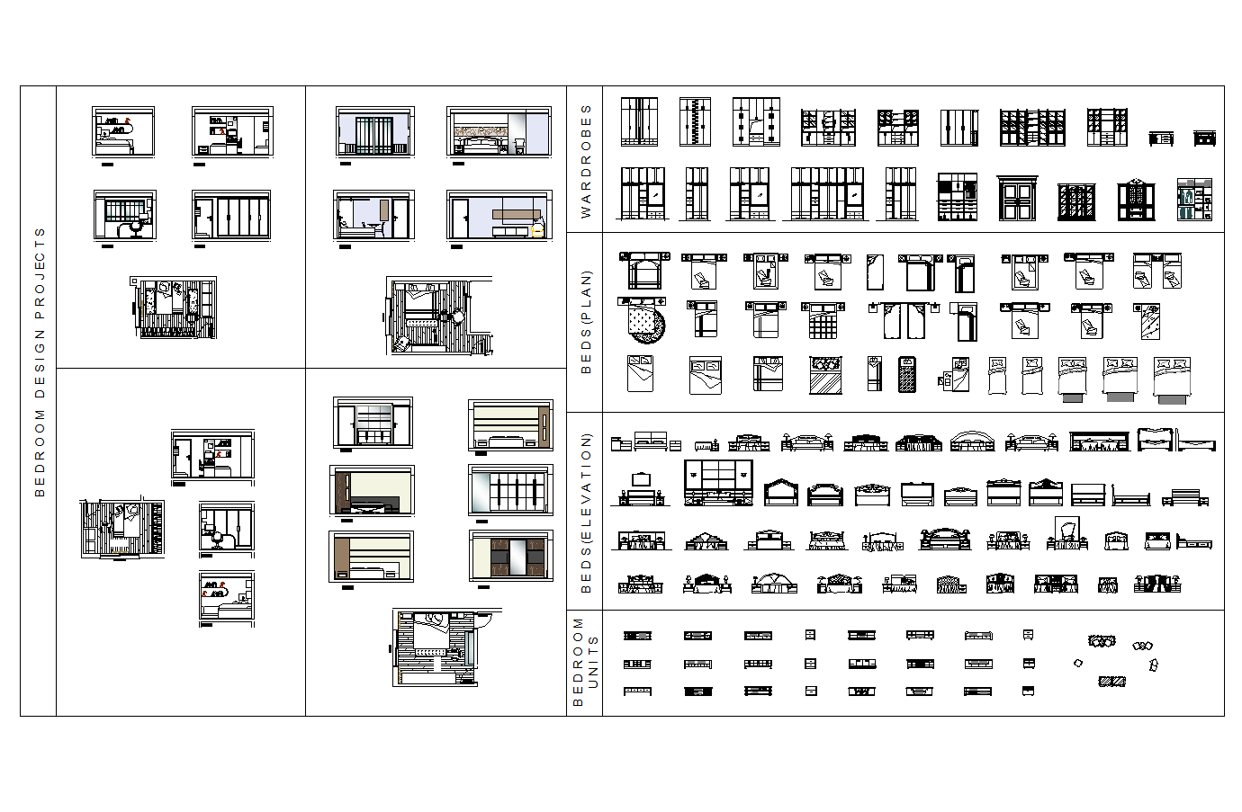 Furniture Cad Symbols And Blocks Library Autocad Drawings Source