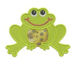 Free Embroidery Design: Frog - I Sew Free