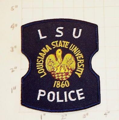 Lsu Louisiana State University Police Department Patch 1860 New Police Patches Police Patches