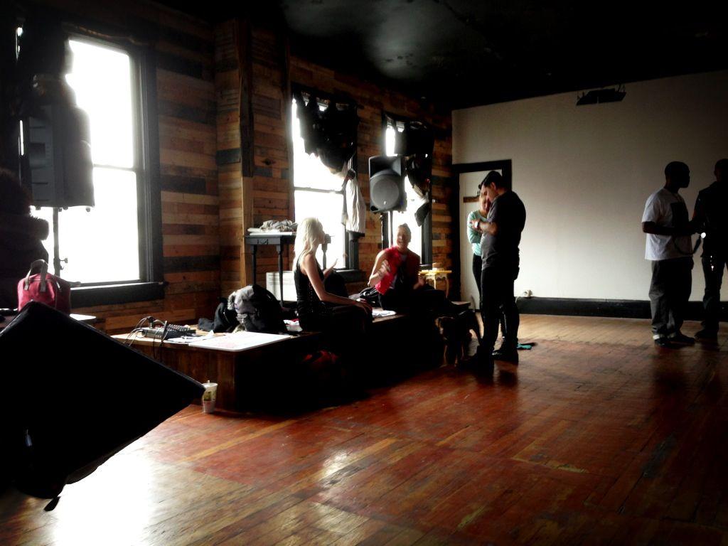 Merchants of Reality shoot