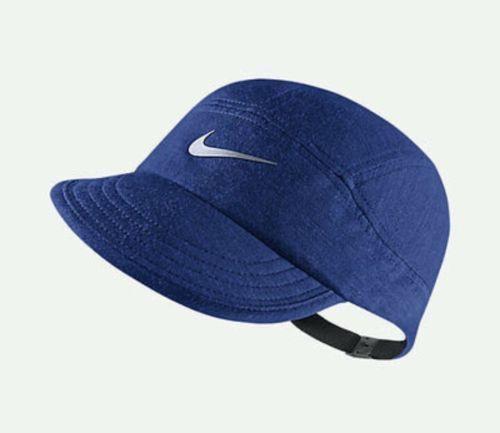 679837-480 New with tag NIKE Tailwind Wool Blend Dri Fit Adjustable Running  Hat  Visor f33540b5c02