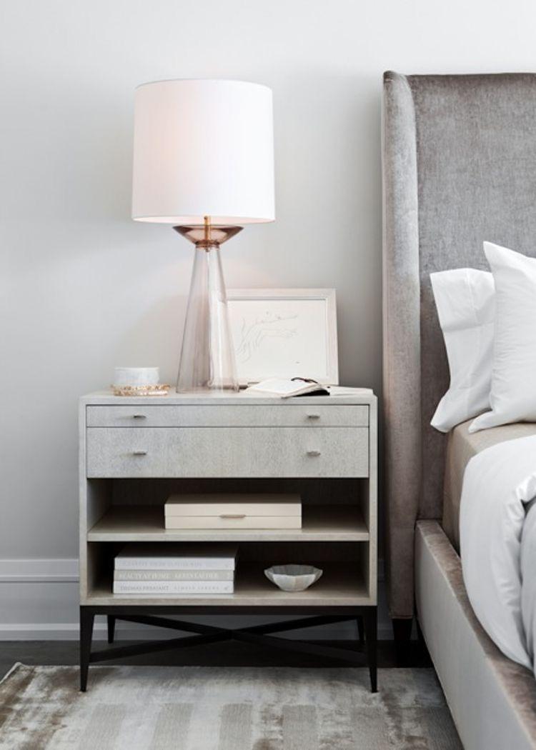 velvet headboard bedroom home decor bedroom bedside table decor rh pinterest ch