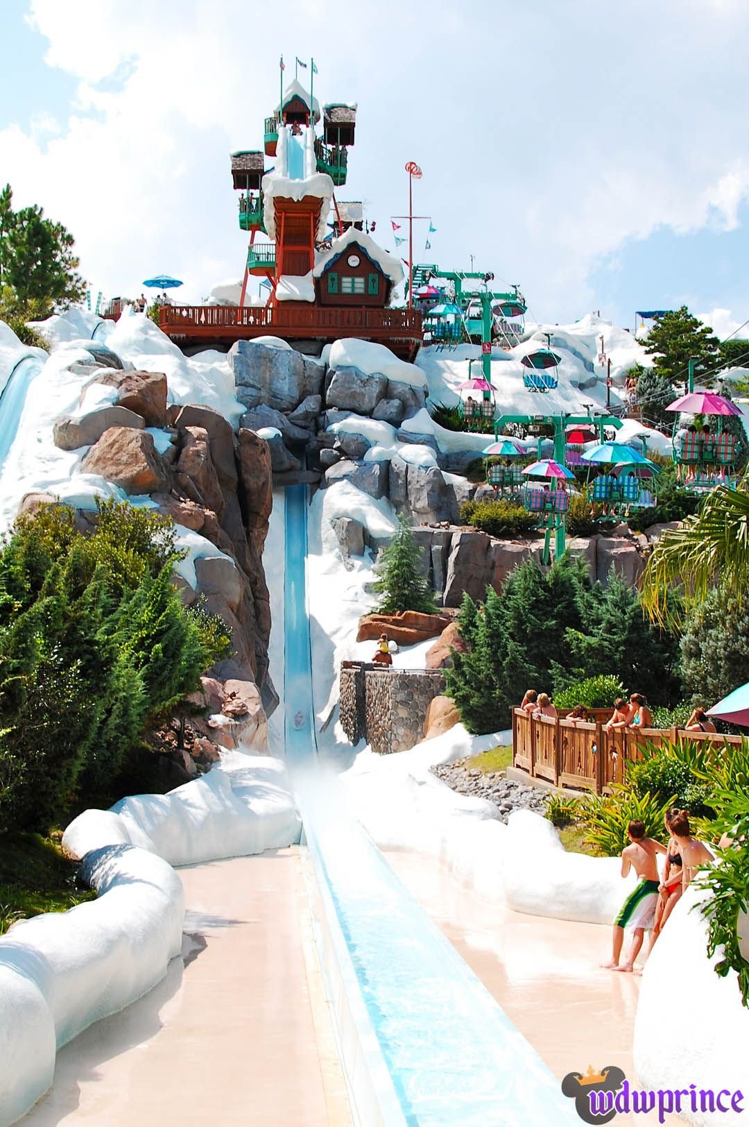 #3 Summit Plummet Disney' Blizzard Beach Walt Disney