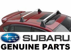 Subaru Impreza Wrx Sti Oem Fixed Roof Rack Kit Cross Bar Set E361sfg401 Subaru Impreza Wrx Subaru